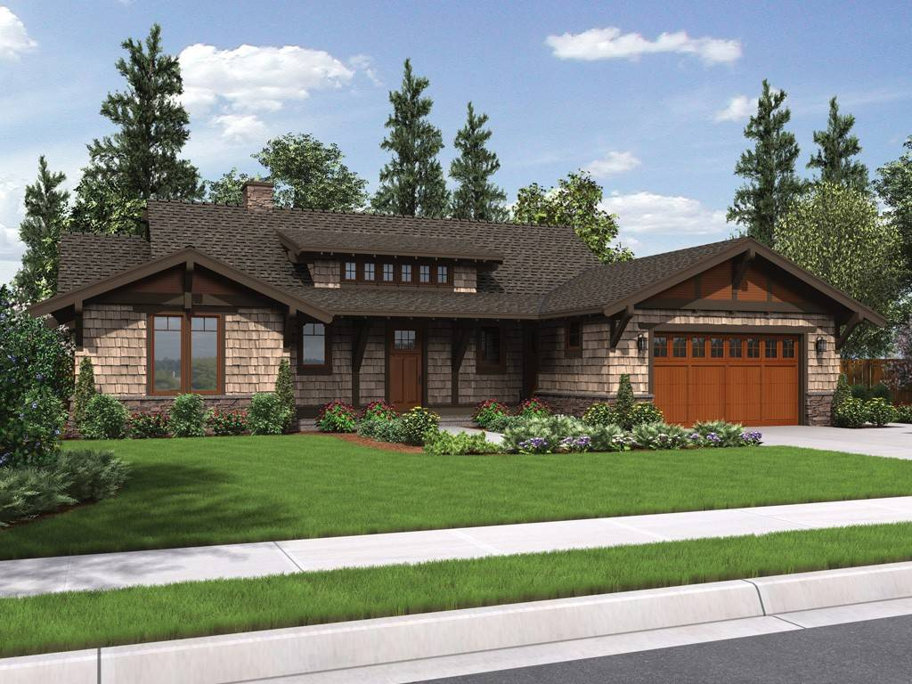 Meriwether Craftsman Ranch House Plan
