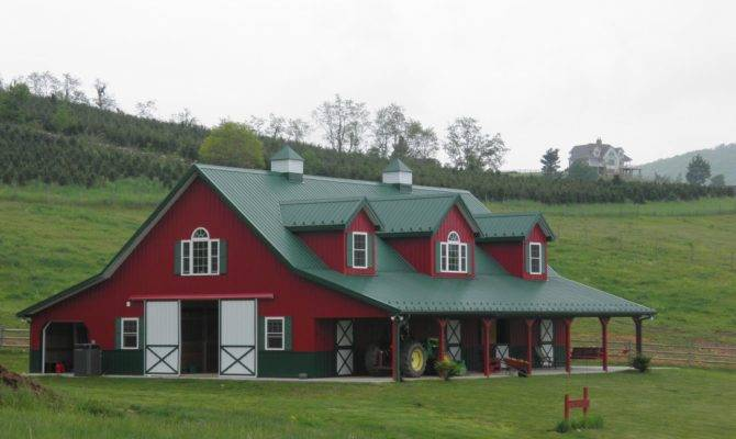 Metal Bldging Barn House Imagesplans Joy Studio Design