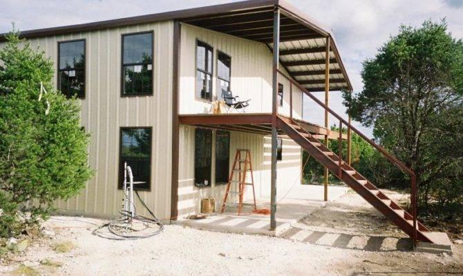 Metal Building Living Quarters Shop House Plans