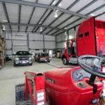 Metal Building Truck Garages Steel Garage Buildings