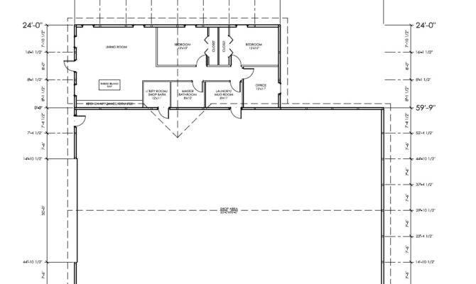Metal Garage Living Quarters Floor Plans