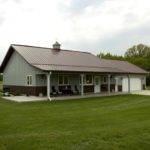 Metal Home Porch Garage Building Homes