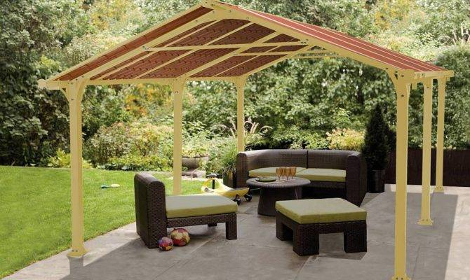 Metal Roof Outdoor Gazebo