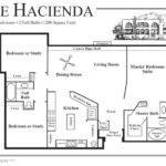Mexican House Plans Courtyard Hacienda Style