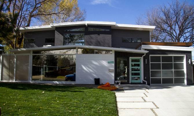 Mid Century Modern Homes Floor Plans Garage House Plan