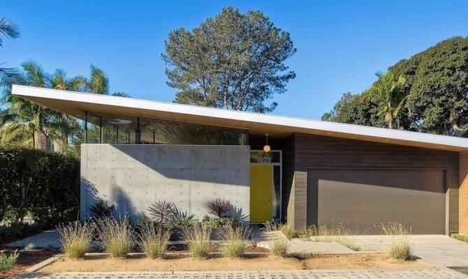 Mid Century Modern Homes Floor Plans Type House