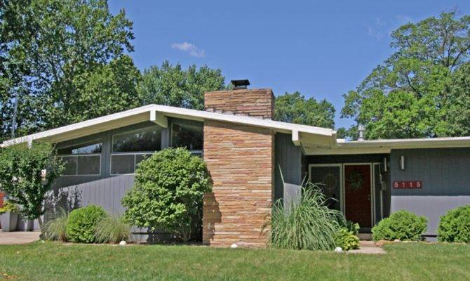 Mid Century Modern Homes Plans House Plan