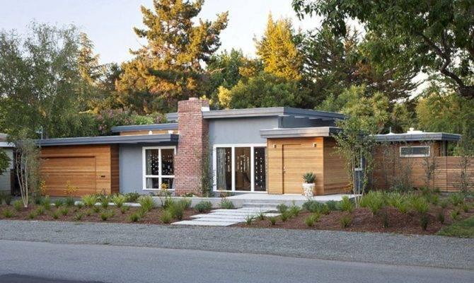 Mid Century Modern Homes Wood Siding Decoredo