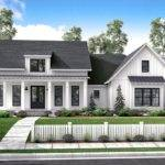 Mid Exclusive Modern Farmhouse Plan