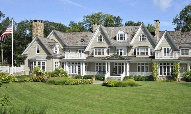 Million Colonial Mansion Greenwich Homes Rich