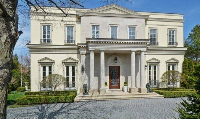 Million Neoclassical Home Winnetka Homes