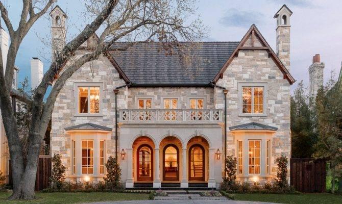 Million Newly Built Stone Brick Home University