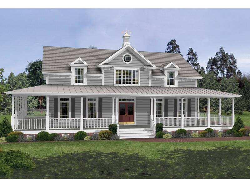 Milner Country Home Plan House Plans More
