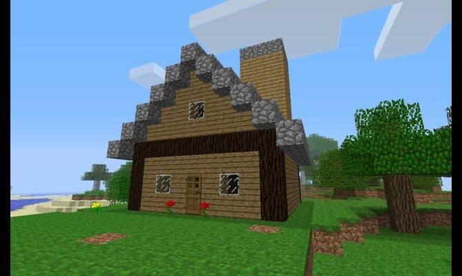 Minecraft Build House Beginners Parody