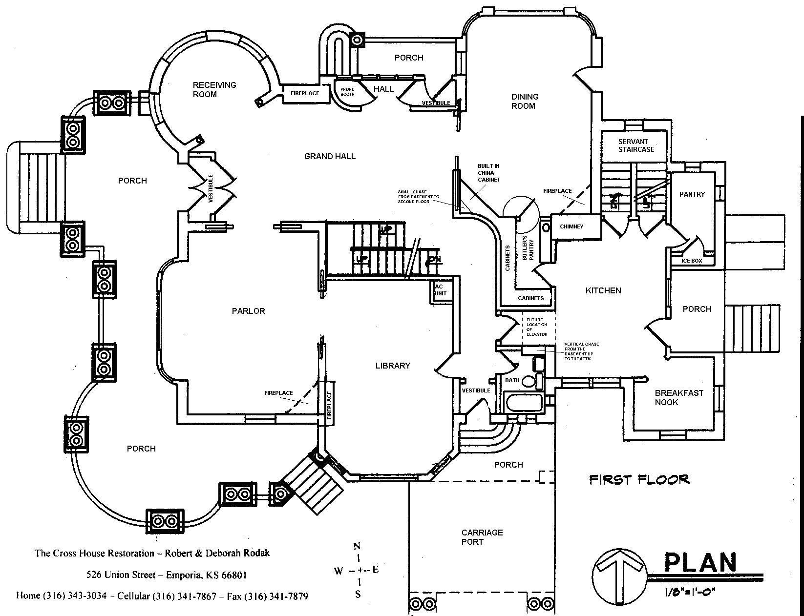 Minecraft House Blueprints Plans