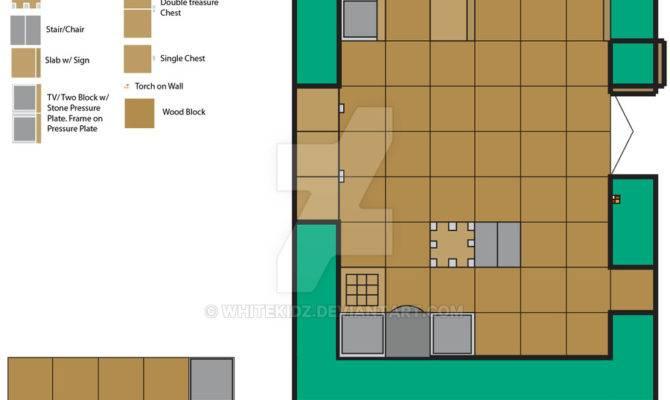 Minecraft House Floor Plan Whitekidz Deviantart