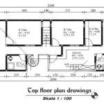 Minimalist House Design Drawing Plans