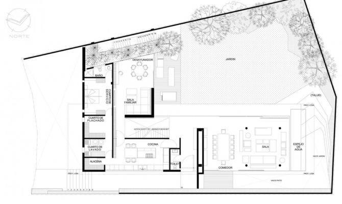 Minimalist House Plans Floor Bee Home Plan