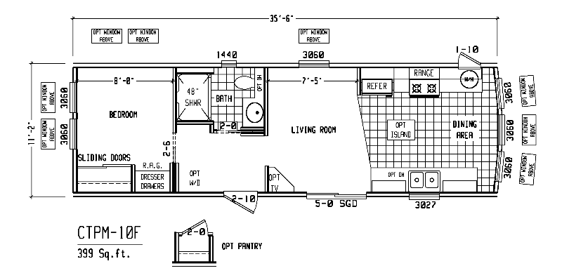 Mobile Home Floor Plans Bedroom Single Wide