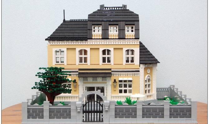 Moc Big House Lego Town Eurobricks Forums
