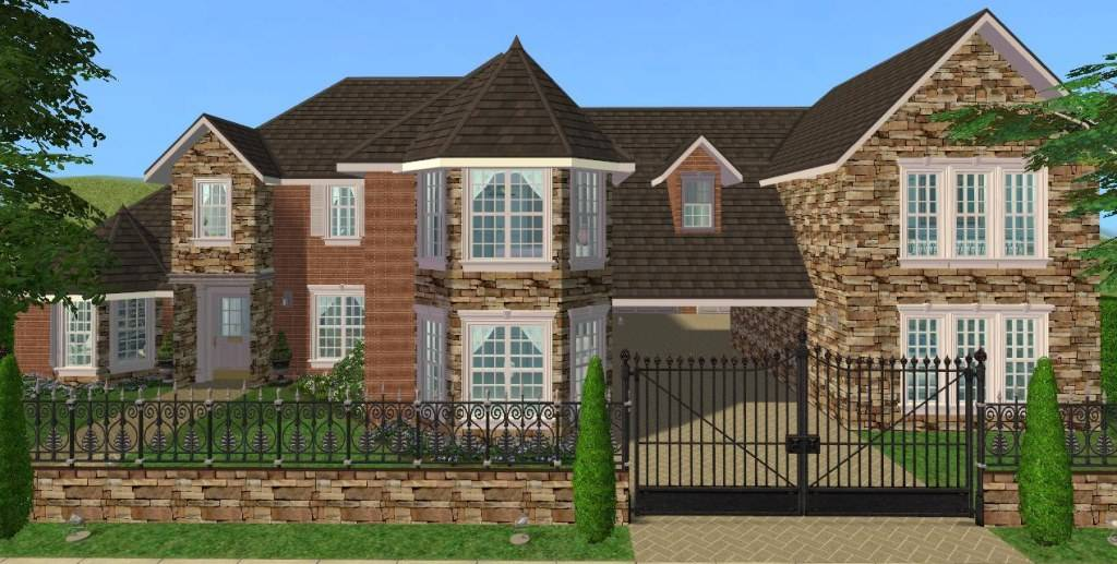 Mod Sims Bedroom Luxury Home