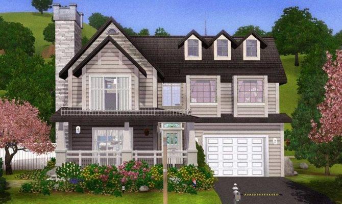 Mod Sims Comfortable Charming Home Basement
