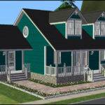 Mod Sims Cozy Cape Cod Cottage