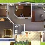 Mod Sims Cozy Suburban Home