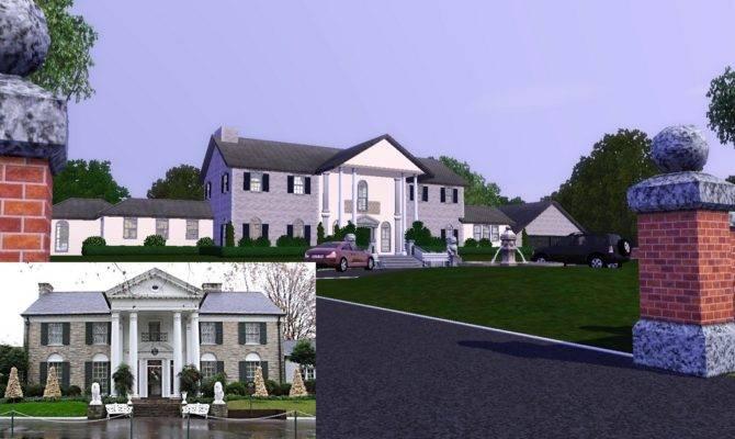 Mod Sims Graceland Elvis Presley Mansion