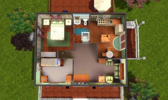 Mod Sims Highland Avenue Small Home