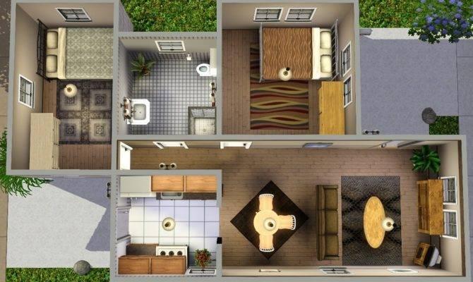 Mod Sims Ledomus Starter Home Plan