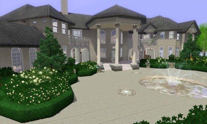 Mod Sims Mahakarya Mansion