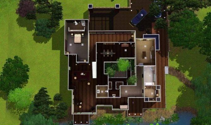 Mod Sims Mandrakis Residence Stranger Calls