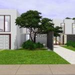 Mod Sims Modern Luxury House Interior Garden