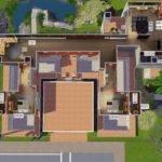 Mod Sims Modern Stilt House