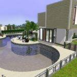 Mod Sims Pinochle Drive Modern Luxury Home
