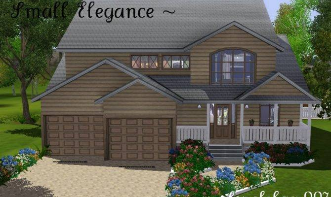 Mod Sims Small Elegance Home