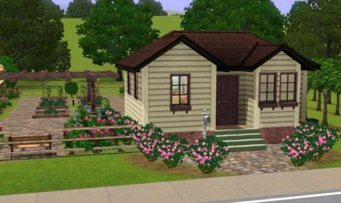 Mod Sims Small Farm House Huge Harvestable