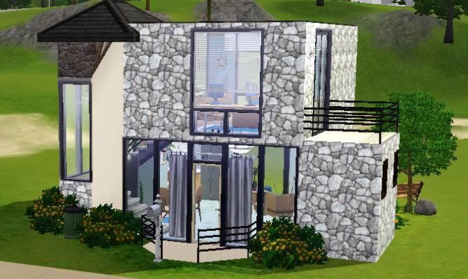 Mod Sims Small Modern House