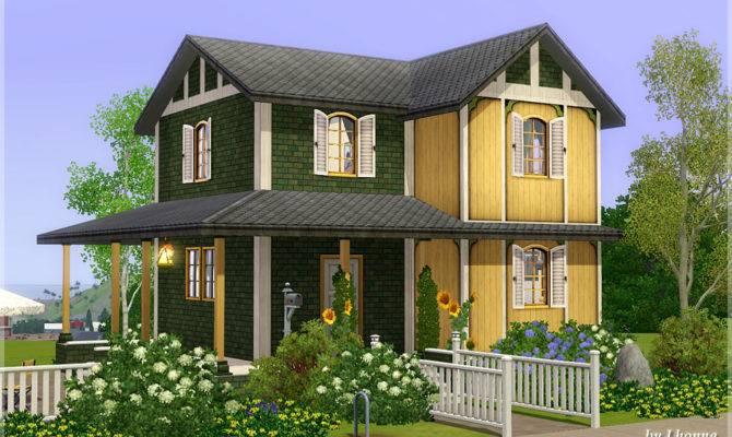 Mod Sims Sunflower Small House