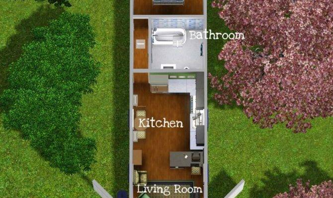 Mod Sims Tiny House Containerized