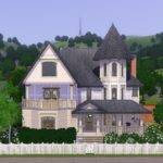 Mod Sims Verity Victorian Styled House