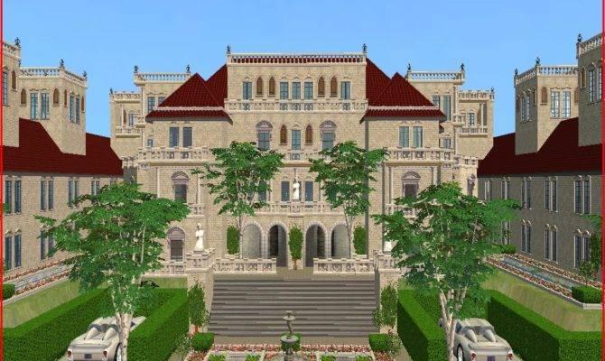 Mod Sims Villa Amore Kerri Mansion Pure