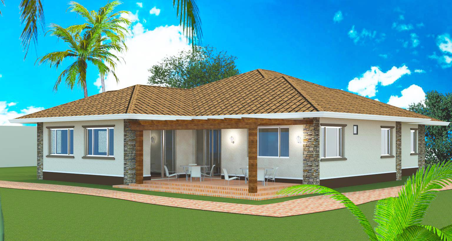 Model Bedroom Bungalow Design Negros Construction
