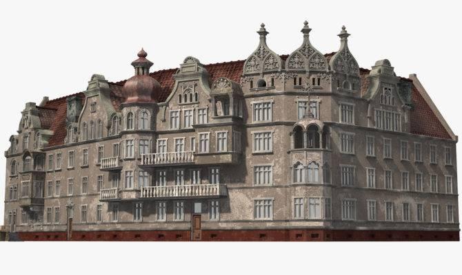 Model Old European House