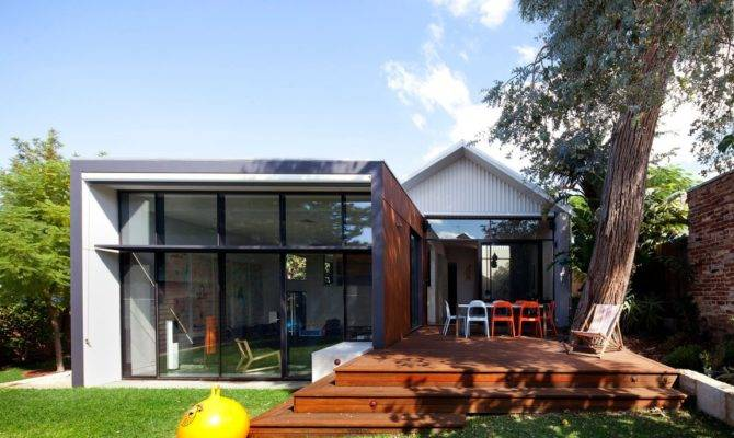 Modern Addition Traditional House Heritage Listed Venue