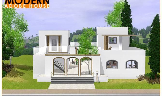 Modern Adobe Houses House