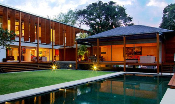 Modern Architecture Buildings Singapore Interior Home