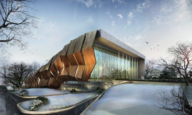Modern Architecture Decorative