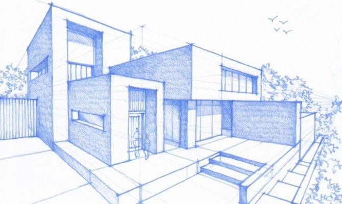 Modern Architecture Drawing Top Architectural Drawings
